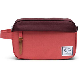 Herschel Chapter Carry On Kit da viaggio, mineral red/plum